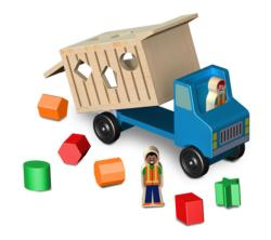 Dump Truck Dexterity Toy