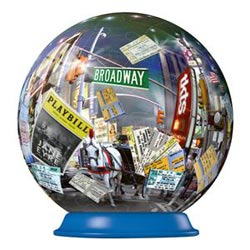 New York - Broadway (Puzzleball) Music Jigsaw Puzzle
