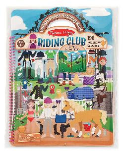 Deluxe Puffy Sticker Album - Horse Scenes Activity Books and Stickers