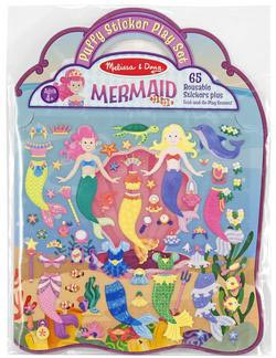 Puffy Sticker Play Set - Mermaid Fantasy Activity Books and Stickers