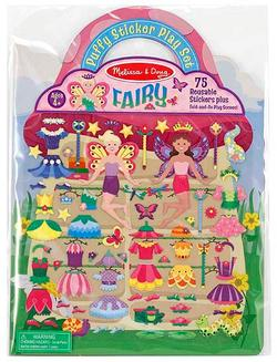Puffy Sticker Play Set - Fairy Fairies