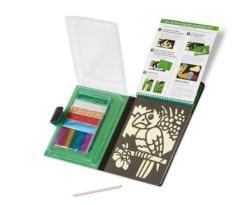 On-the-Go Crafts - Foil Art Activity Book and Stickers