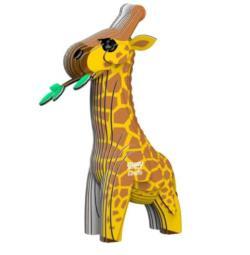 Giraffe Eugy Animals 3D Puzzle