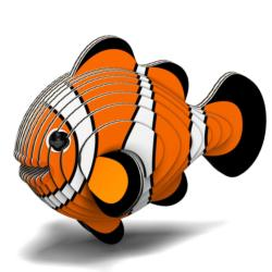 Clownfish Eugy Animals Children's Puzzles