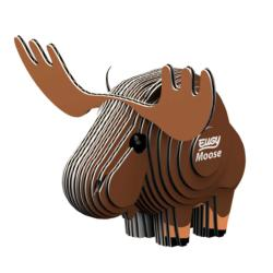 Moose Eugy Animals 3D Puzzle