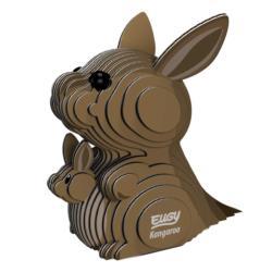 Kangaroo Eugy Animals 3D Puzzle