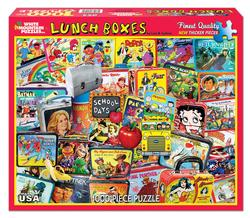 Lunch Boxes Nostalgic / Retro Jigsaw Puzzle