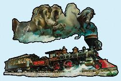 Horse of Iron Trains Jigsaw Puzzle
