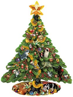 The Decorators Christmas Jigsaw Puzzle