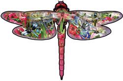 Dragon Fly Butterflies and Insects Jigsaw Puzzle