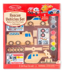 Rescue Vehicles Set Vehicles Toy
