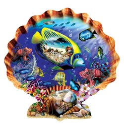 Souvenirs of the Sea Marine Life Jigsaw Puzzle