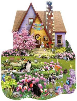 Easter on the Lawn Garden Shaped