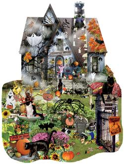 Spooky House - Scratch and Dent Halloween Jigsaw Puzzle