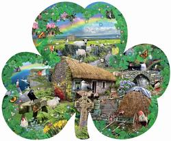 Irish Charm - Scratch and Dent St. Patrick's Day Jigsaw Puzzle