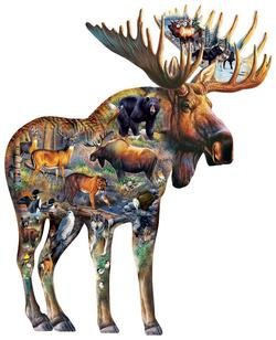 Walk on the Wild Side Wildlife Jigsaw Puzzle