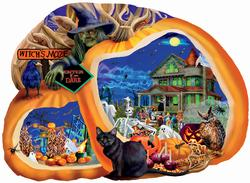 Enter if You Dare Halloween Jigsaw Puzzle