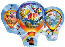 Soft Winds and Gentle Landings Balloons Shaped