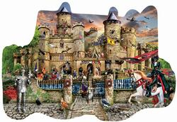 Castle Stronghold Fantasy Jigsaw Puzzle