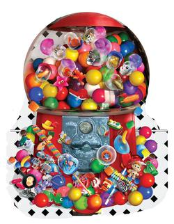 Gumballs Galore Food and Drink Jigsaw Puzzle