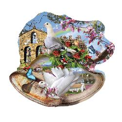 Country Bells Landscape Shaped