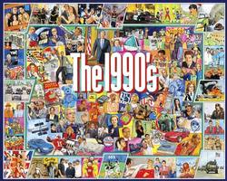 The Nineties Collage Jigsaw Puzzle
