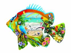Beachfront Fish Jigsaw Puzzle