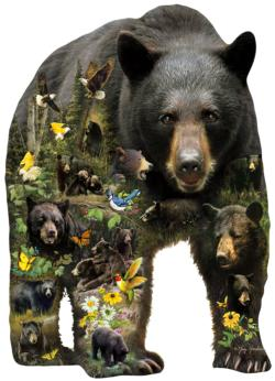 Forest Bear Bears Jigsaw Puzzle
