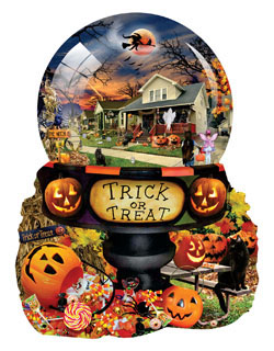 Halloween Globe Halloween Jigsaw Puzzle