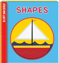 Shapes (Soft Puzzle Book) Educational Activity Books and Stickers