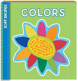 Colors (Soft Puzzle Book) Educational Activity Books and Stickers