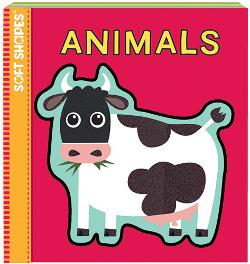 Animals (Soft Puzzle Book) Educational Activity Books and Stickers