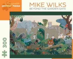 Beyond the Garden Gate Jungle Animals Jigsaw Puzzle
