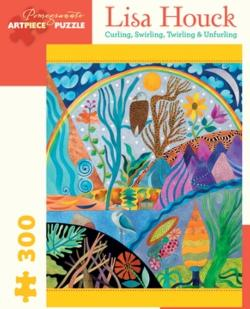 Curling, Swilrling, Twirling & Unfurling Nature Jigsaw Puzzle