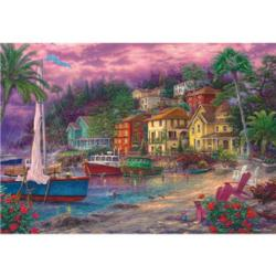 Golden Shores Seascape / Coastal Living Jigsaw Puzzle