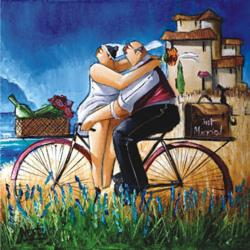 Just Married People Jigsaw Puzzle