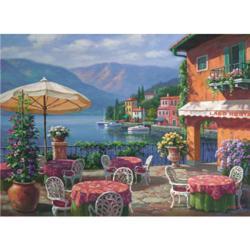 Lago Café Seascape / Coastal Living Jigsaw Puzzle