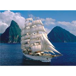 Sea Cloud II Seascape / Coastal Living Jigsaw Puzzle