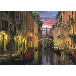 Venice at Dusk Lakes / Rivers / Streams Jigsaw Puzzle