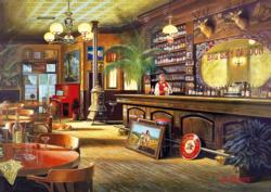 Big Sky Saloon - Scratch and Dent Food and Drink Jigsaw Puzzle