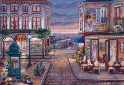 Café Des Musees Paris Jigsaw Puzzle