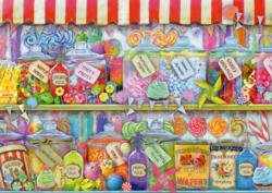 Candy Shop Pattern / Assortment Jigsaw Puzzle