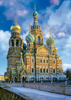 Church of the Resurrection of Christ Russia Jigsaw Puzzle