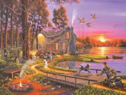 An Early Surprise (Collector) Sunrise/Sunset Jigsaw Puzzle