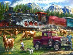 Great Western Train (Collector) Nostalgic / Retro Jigsaw Puzzle