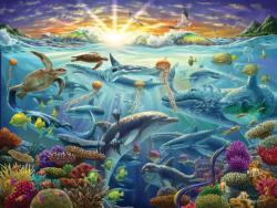 Ocean of Life (Collector) Fish Jigsaw Puzzle