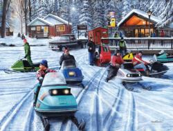 Poker Run (Collector) Winter Jigsaw Puzzle