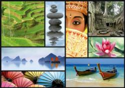 Colors of Asia Photography Jigsaw Puzzle