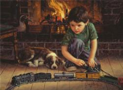 Engineer Domestic Scene Jigsaw Puzzle