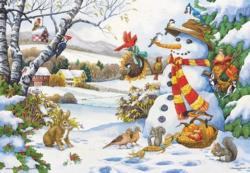 Frosty's Gifts Winter Jigsaw Puzzle